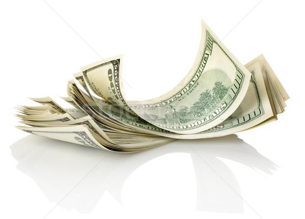 Bundle of dollar Stock photo © Givaga