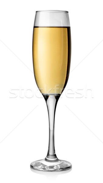 White wine in tall glass Stock photo © Givaga