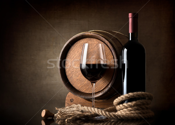Barrel of wine Stock photo © Givaga