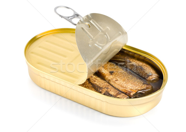 Sprat fish canned Stock photo © Givaga