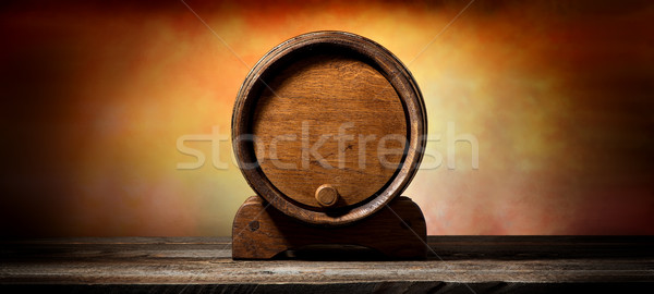 Stock photo: Cask for liquid
