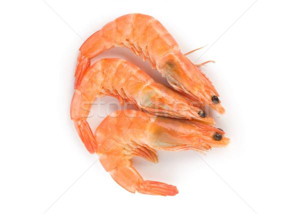 Prepared shrimp isolated Stock photo © Givaga