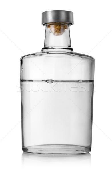 бутылку водка изолированный белый алкоголя Сток-фото © Givaga