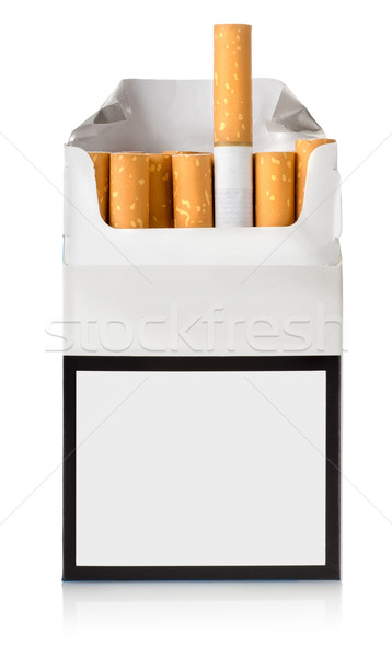 Pack of cigarettes Stock photo © Givaga