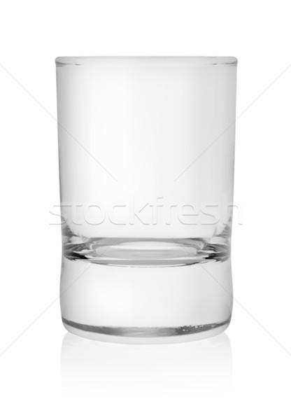 üveg vodka izolált fehér csésze italok Stock fotó © Givaga