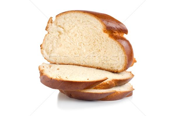 Chunks of sweet bread Stock photo © Givaga