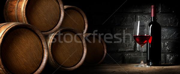 погреб Winery вино аннотация искусства Сток-фото © Givaga