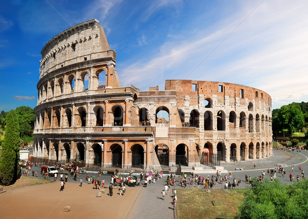 Colosseum in summer Stock photo © Givaga