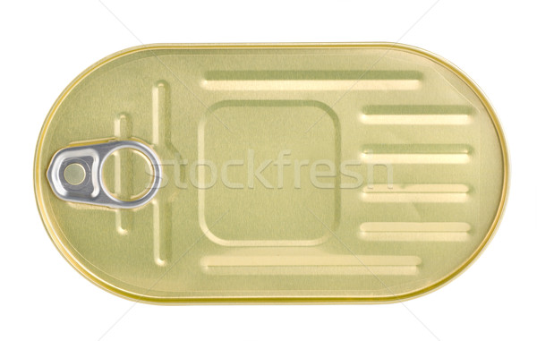 Bank of canned sardines Stock photo © Givaga