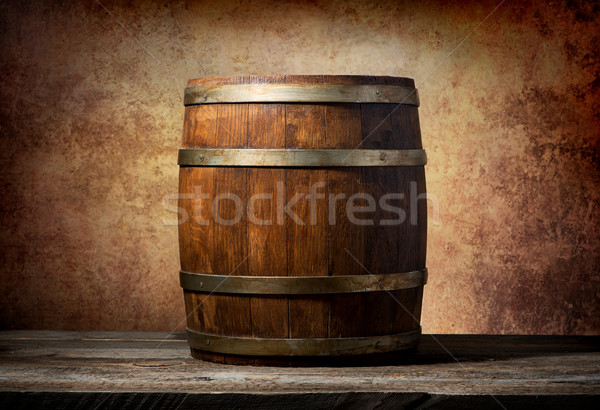 Barrel for beverages Stock photo © Givaga