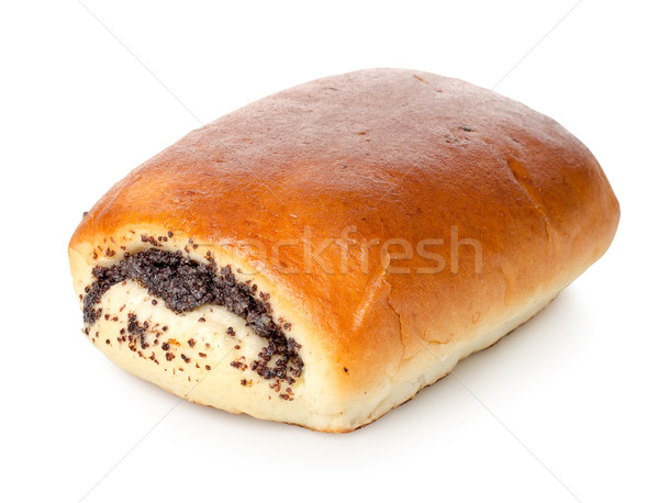 Bun with poppy seeds Stock photo © Givaga