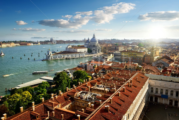 Venice from above Stock photo © Givaga