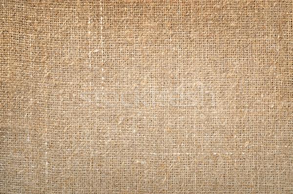 Seamless linen canvas Stock photo © Givaga