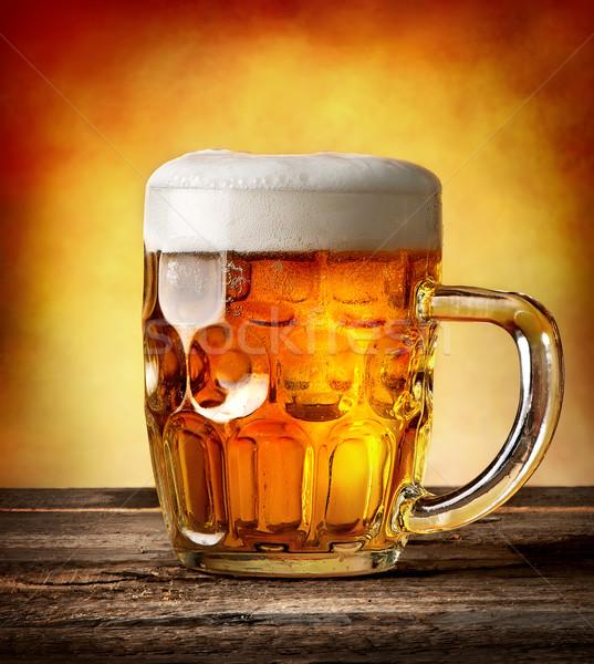 Figured mug of beer Stock photo © Givaga