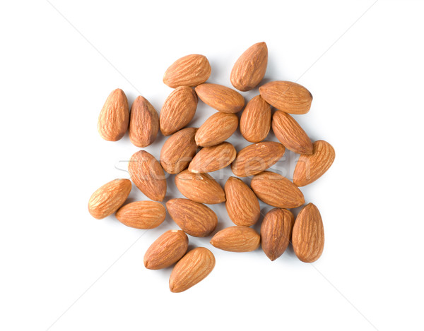 Handful almond isolated Stock photo © Givaga