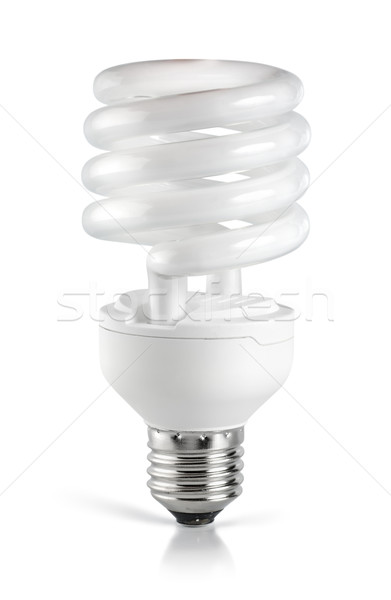Energy saving  fluorescent lightbulb Stock photo © Givaga