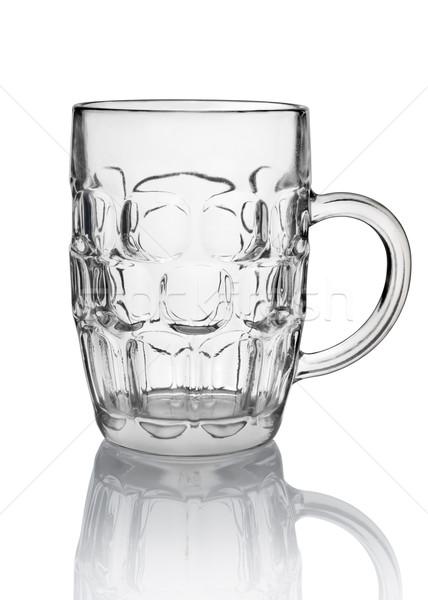Big beer glass isolated Stock photo © Givaga