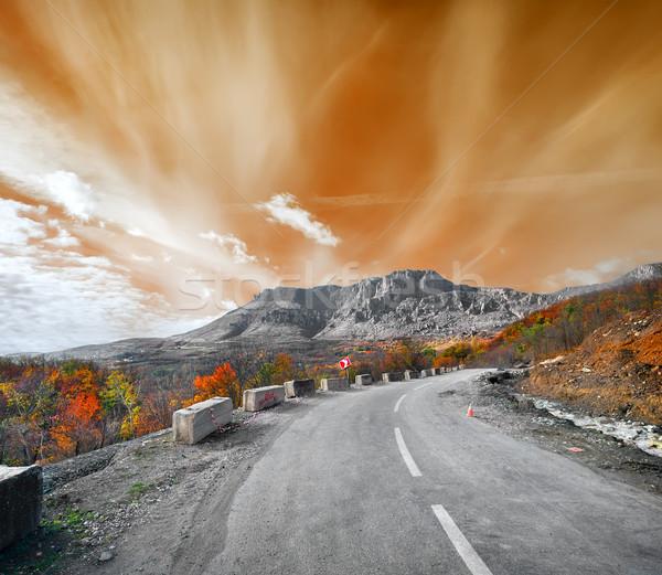 Road to the mountain Demerji Stock photo © Givaga