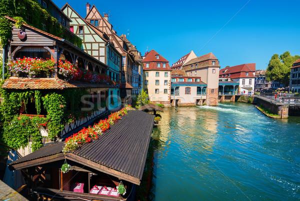 On the Strasbourg coast Stock photo © Givaga