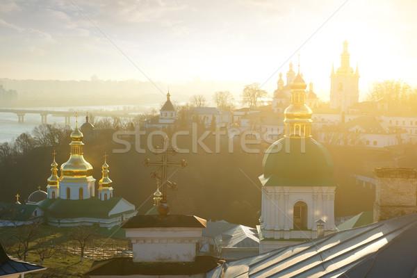 Churches in Lavra Stock photo © Givaga