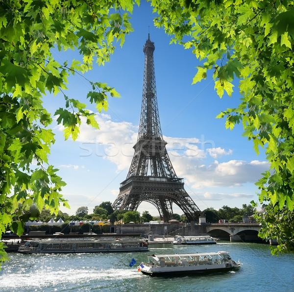 La Tour d'Eiffel Stock photo © Givaga