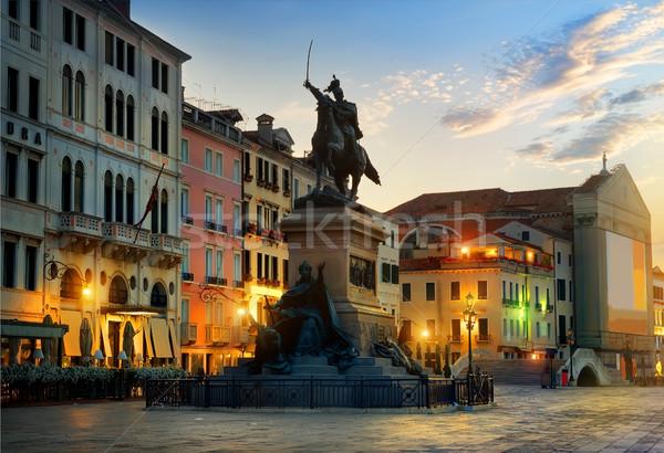 Monument to Vittorio Emmanuele II Stock photo © Givaga