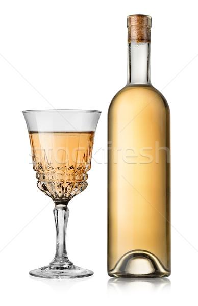 Dry white wine Stock photo © Givaga