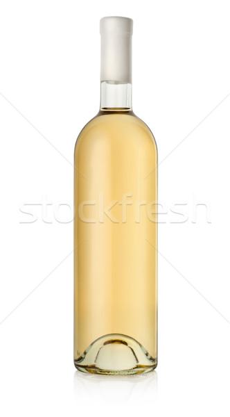 Bottle of white wine Stock photo © Givaga