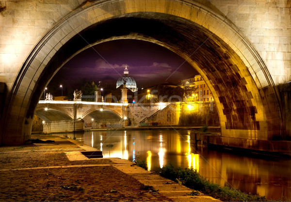 Bridge Sant Angelo Stock photo © Givaga