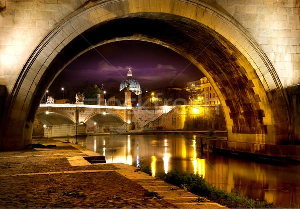 Stock photo: Bridge Sant Angelo