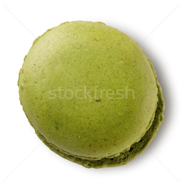 緑 ピスタチオ マカロン 孤立した 白 食品 ストックフォト © Givaga