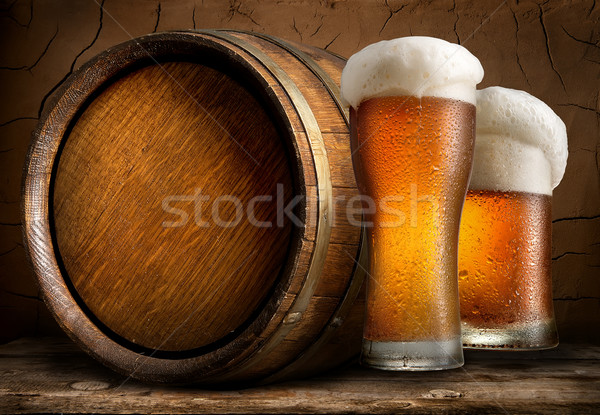 Stock photo: Beer in cellar