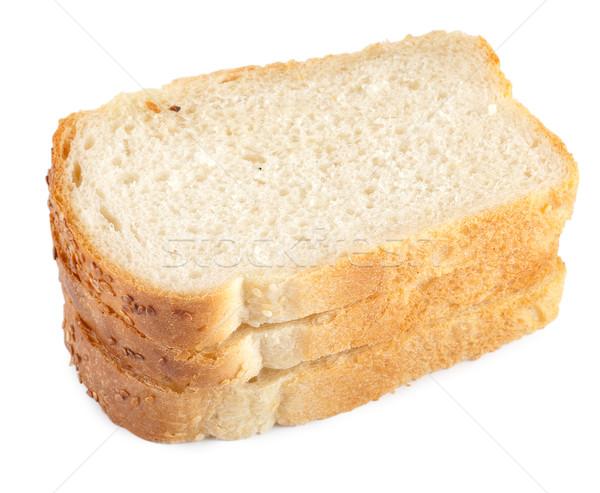 作品 白パン 孤立した 白 ストックフォト © Givaga