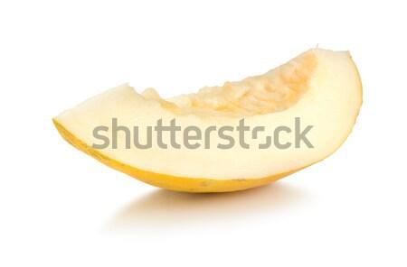 Fresche melone isolato bianco Foto d'archivio © Givaga