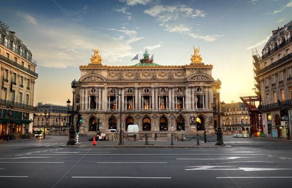 опера Париж академии музыку Франция дома Сток-фото © Givaga