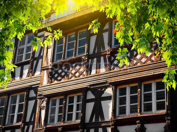 Petite France in Strasbourg Stock photo © Givaga
