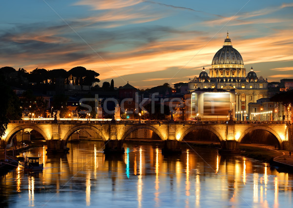 Architecture of Vatican Stock photo © Givaga