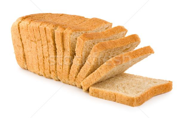 新鮮な 白パン 孤立した 白 ストックフォト © Givaga