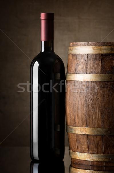 Wine in bottle Stock photo © Givaga