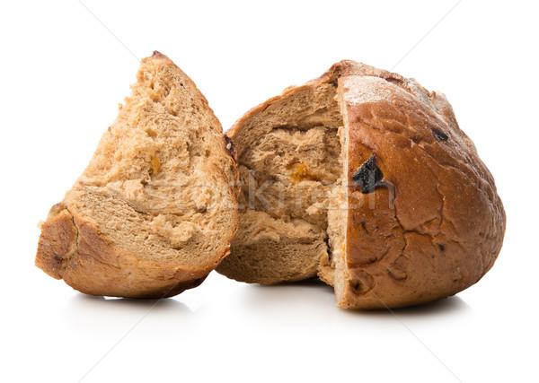 Pachnący chleba odizolowany biały pszenicy studio Zdjęcia stock © Givaga