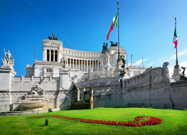 Vittoriano in Piazza Venezia Stock photo © Givaga