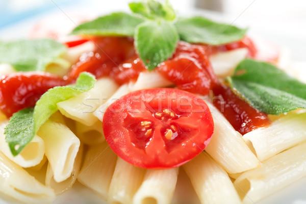 Macarrão legumes ervas comida Foto stock © Givaga