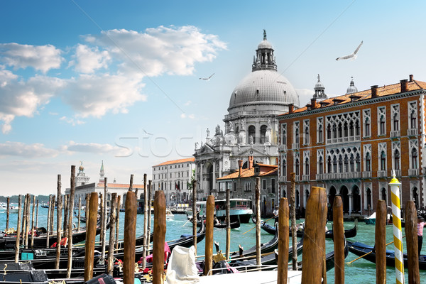 Basilique canal Venise Italie maison Photo stock © Givaga