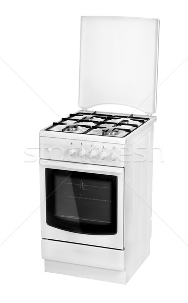 White gas cooker isolated Stock photo © Givaga