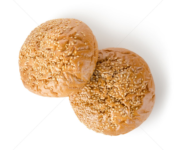 Sweet buns with poppy grains Stock photo © Givaga