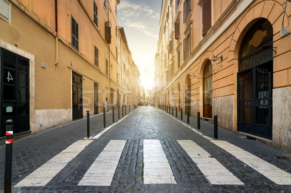 Street  in Rome Stock photo © Givaga