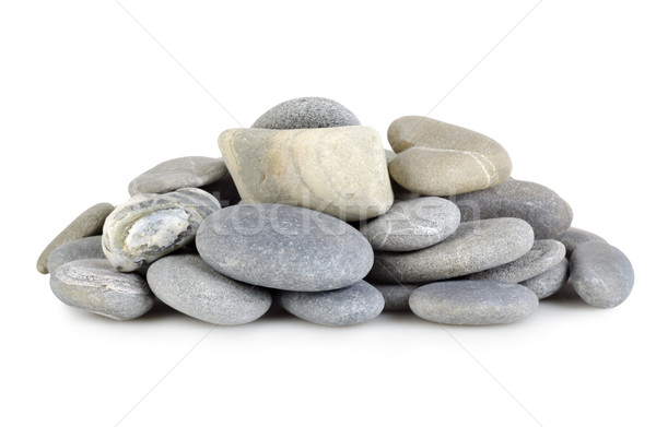 Heap a gray stones Stock photo © Givaga