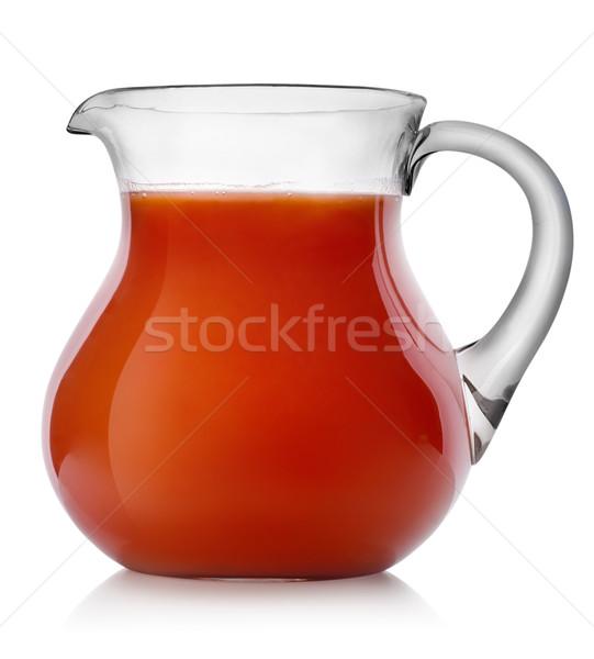 томатный сок кувшин изолированный белый пить напитки Сток-фото © Givaga