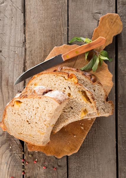 Bread on a cutting board Stock photo © Givaga