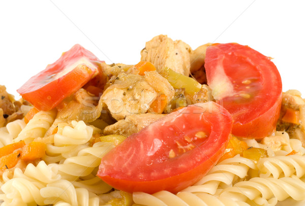 Pasta with meat Stock photo © Givaga